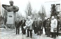 М. Брацило. Участь у вшануванні Т.Г.Шевченка в м.Запоріжжі. 1998 рік
