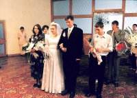 Згадуємо  Марину та  Юрія в День  іхнього весілля...